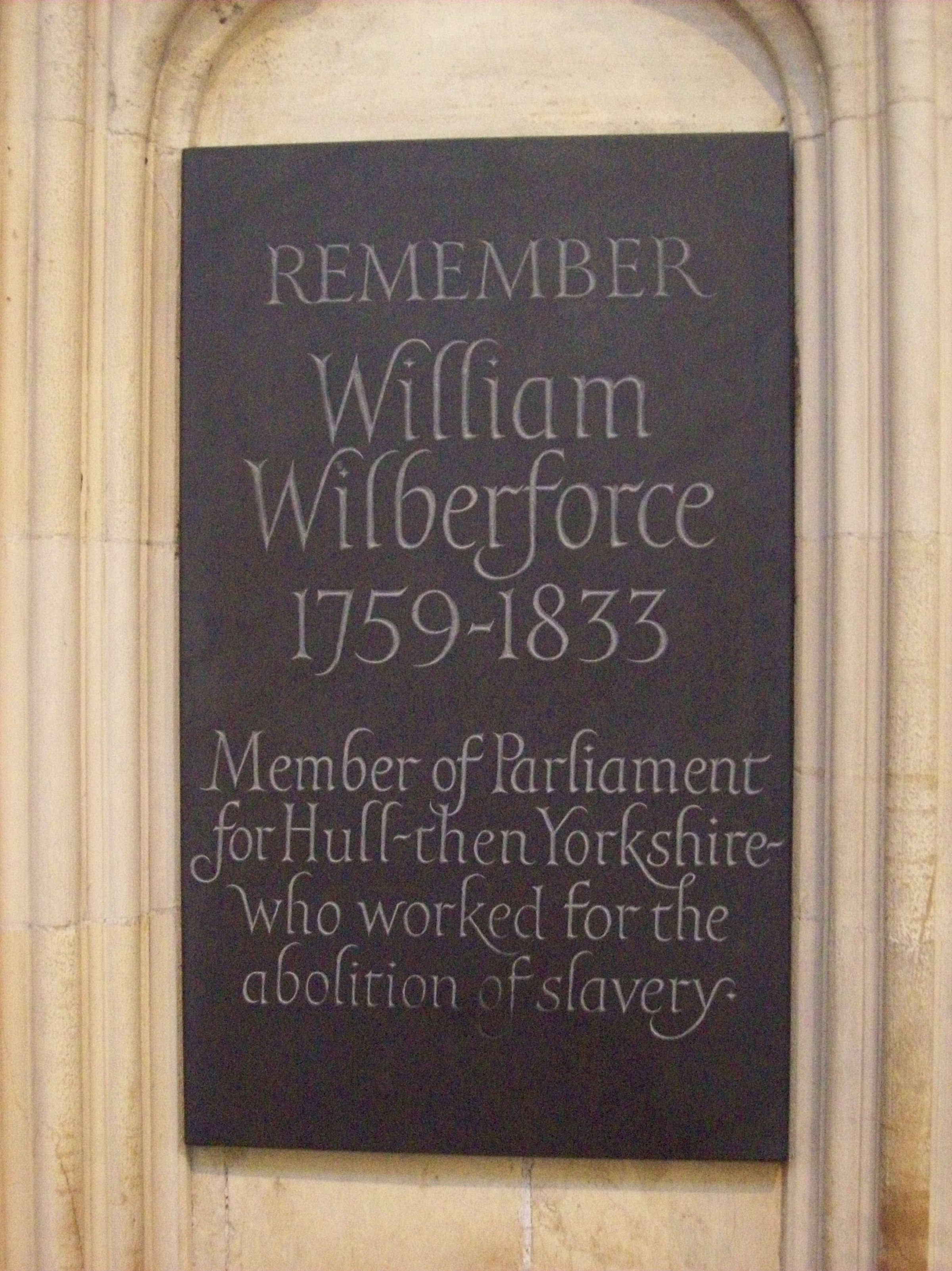 Christianity William Wilberforce